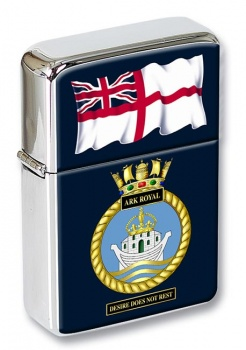 HMS Ark Royal Flip Top Lighter