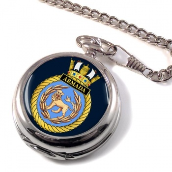 HMS Armada (Royal Navy) Pocket Watch