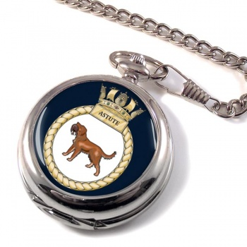 HMS Astute (Royal Navy) Pocket Watch