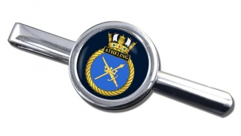 HMS Atheling (Royal Navy) Round Tie Clip