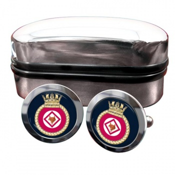 HMS Atherstone (Royal Navy) Round Cufflinks