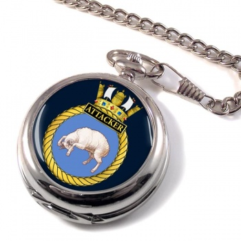 HMS Attacker (Royal Navy) Pocket Watch