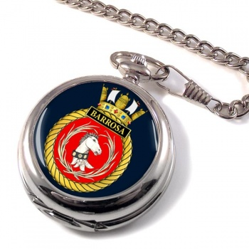 HMS Barrosa (Royal Navy) Pocket Watch