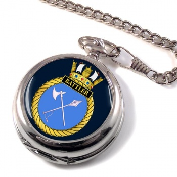 HMS Battler (Royal Navy) Pocket Watch