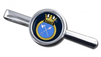 HMS Battler (Royal Navy) Round Tie Clip