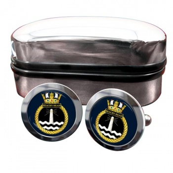 HMS Beachy Head (Royal Navy) Round Cufflinks