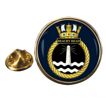 HMS Beachy Head (Royal Navy) Round Pin Badge