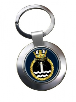 HMS Beachy Head (Royal Navy) Chrome Key Ring