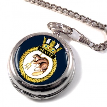 HMS Beaver (Royal Navy) Pocket Watch
