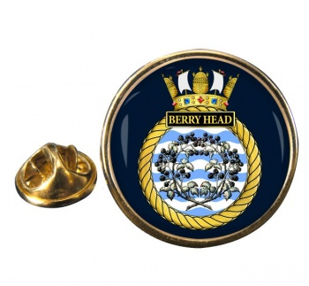 HMS Berry Head (Royal Navy) Round Pin Badge