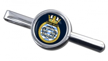 HMS Berry Head (Royal Navy) Round Tie Clip