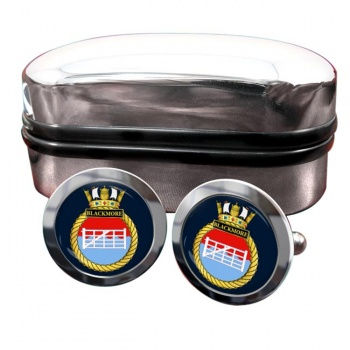 HMS Blackmore (Royal Navy) Round Cufflinks