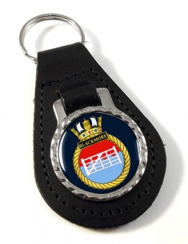 HMS Blackmore (Royal Navy) Leather Key Fob