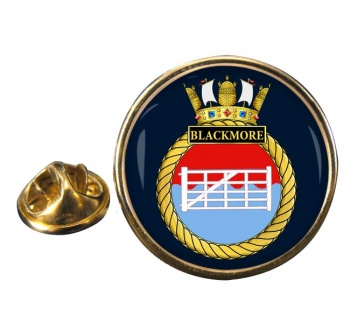 HMS Blackmore (Royal Navy) Round Pin Badge