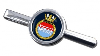 HMS Blackmore (Royal Navy) Round Tie Clip