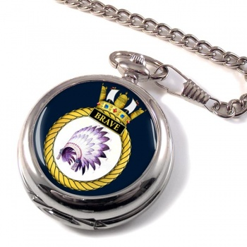 HMS Brave (Royal Navy) Pocket Watch