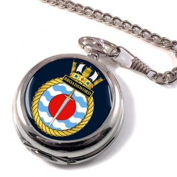 HMS Broadsword (Royal Navy) Pocket Watch