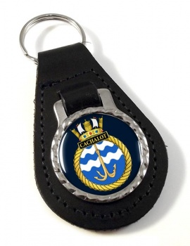 HMS Cachalot (Royal Navy) Leather Key Fob