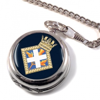 HMS Caledonia (Royal Navy) Pocket Watch