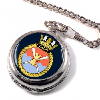 HMS Calpe (Royal Navy) Pocket Watch