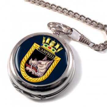 HMS Campbell (Royal Navy) Pocket Watch