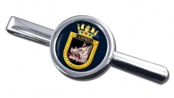 HMS Campbell (Royal Navy) Round Tie Clip
