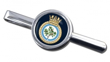 HMS Campbeltown (Royal Navy) Round Tie Clip
