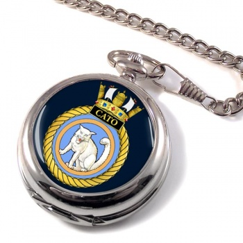 HMS Cato (Royal Navy) Pocket Watch