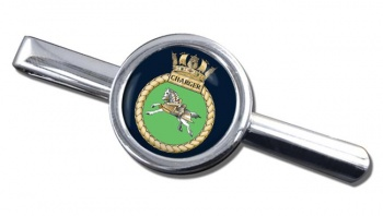 HMS Charger (Royal Navy) Round Tie Clip