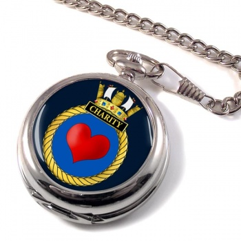 HMS Charity (Royal Navy) Pocket Watch