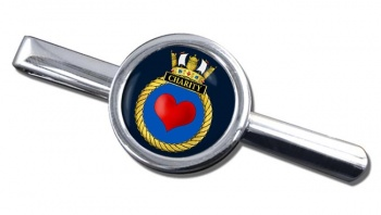 HMS Charity (Royal Navy) Round Tie Clip