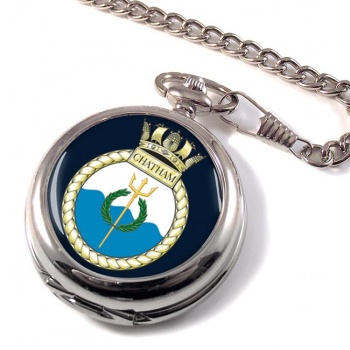 HMS Chatham (Royal Navy) Pocket Watch