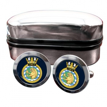 HMS Circe (Royal Navy) Round Cufflinks