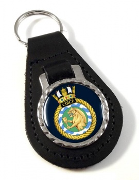 HMS Circe (Royal Navy) Leather Key Fob