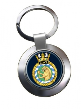 HMS Circe (Royal Navy) Chrome Key Ring
