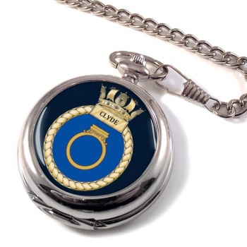 HMS Clyde (Royal Navy) Pocket Watch