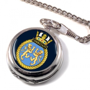 HMS Combatant (Royal Navy) Pocket Watch