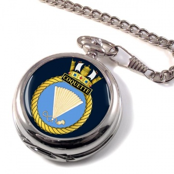 HMS Coquette (Royal Navy) Pocket Watch