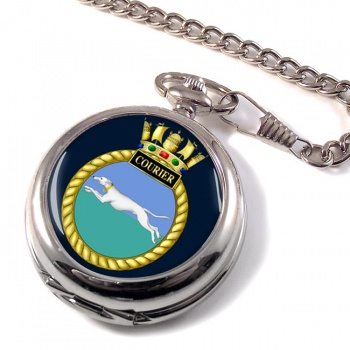 HMS Courier (Royal Navy) Pocket Watch