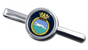 HMS Courier (Royal Navy) Round Tie Clip