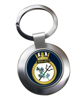 HMS Cromarty (Royal Navy) Chrome Key Ring