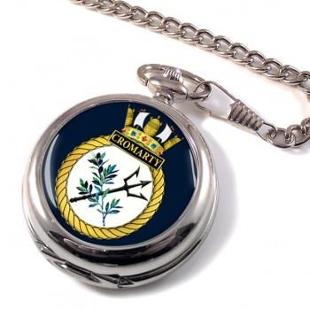 HMS Cromarty (Royal Navy) Pocket Watch