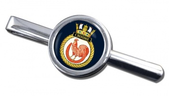 HMS Croome (Royal Navy) Round Tie Clip