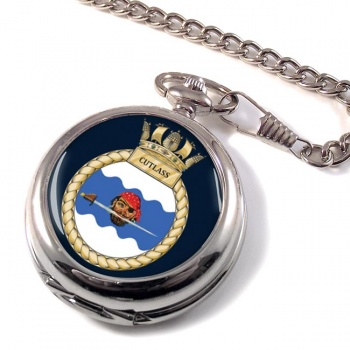 HMS Cutlass (Royal Navy) Pocket Watch