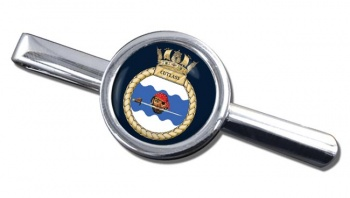 HMS Cutlass (Royal Navy) Round Tie Clip