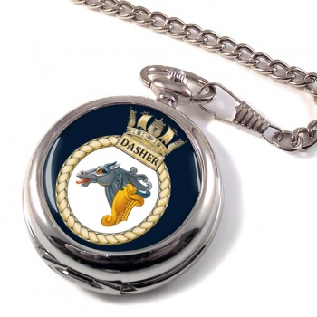 HMS Dasher (Royal Navy) Pocket Watch