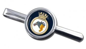 HMS Dasher (Royal Navy) Round Tie Clip