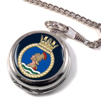 HMS Dauntless (Royal Navy) Pocket Watch