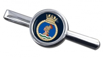 HMS Dauntless (Royal Navy) Round Tie Clip