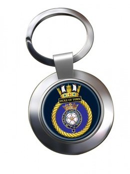 HMS Duke of York (Royal Navy) Chrome Key Ring